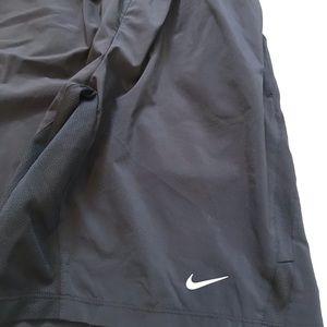 Nike swim trunks black